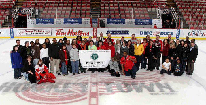 TechTown Meets Hockeytown